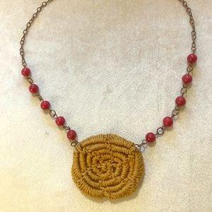 Jewelry - Handmade crocheted choker